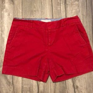 Banana Republic red shorts